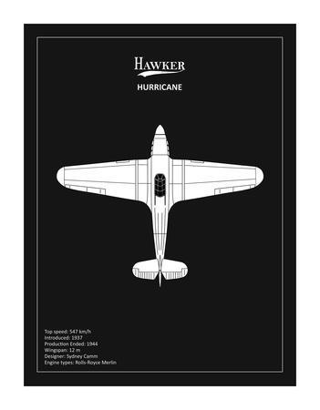 BP Hawker Hurricane Black