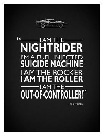 Mad Max I Am The Nightrider