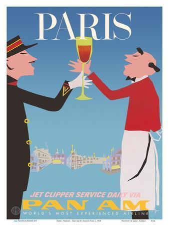Paris, France - Pan American World Airways