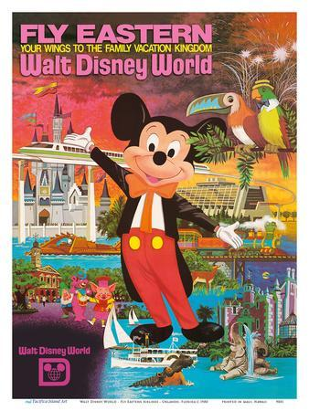 Walt Disney World - Fly Eastern Airlines - Orlando, Florida