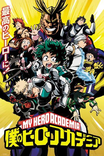my hero academia 1  My Hero Academia - Season 1 Posters at