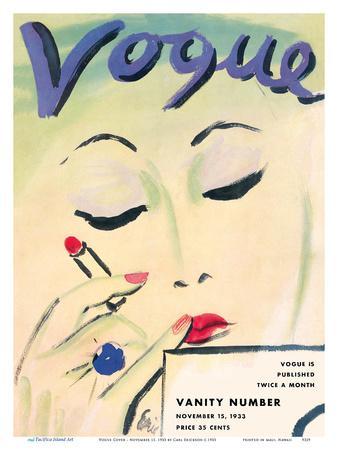 Vogue Cover - November 15, 1933