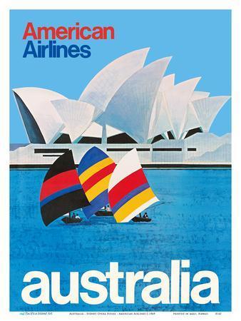 Australia - Sydney Opera House - American Airlines