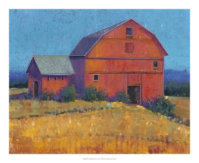 Colorful Barn View I
