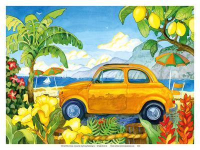 Little Cinquecento - Fiat Auto - Tropical Beach Paradise - Hawaii - Hawaiian Islands