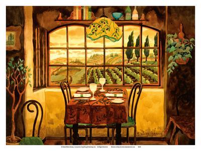 Romantic Dinner in Tuscany - Italy - Italian Villa