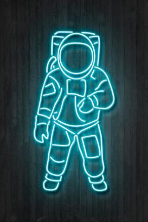 Neon Astronaut