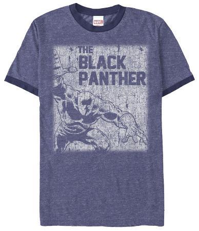 Black Panther - Chalk- Ringer Tee