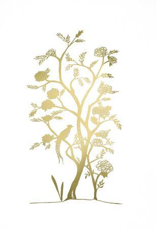 Gold Foil Chinoiserie III