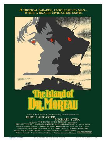 The Island of Dr. Moreau - Starring Burt Lancaster, Michael York