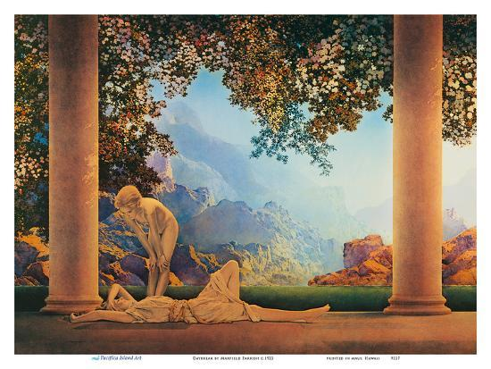 Daybreak Poster By Maxfield Parrish At Allposters Com