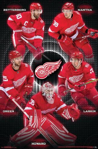 MasterPieces Detroit Red Wings Spot it!