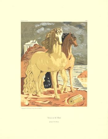 Horses on the Shore