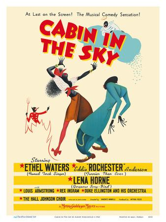 Cabin In The Sky - Starring Ethel Waters, Eddie (Rochester) Anderson and Lena Horne - Musical