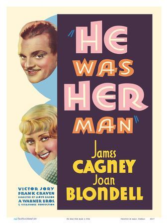 He was Her Man - Starring James Cagney and Joan Blondell