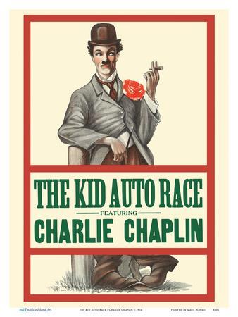The Kid Auto Race - Charlie Chaplin - Directed by Henry Lehrman - Venice Beach, California