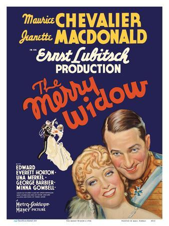 The Merry Widow - Starring Maurice Chevalier and Jeanette MacDonald - Directed by Ernst Lubitsch