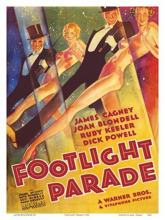 Footlight Parade - Starring James Cagney, Joan Blondell, Ruby Keeler, and Dick Powell - Musical