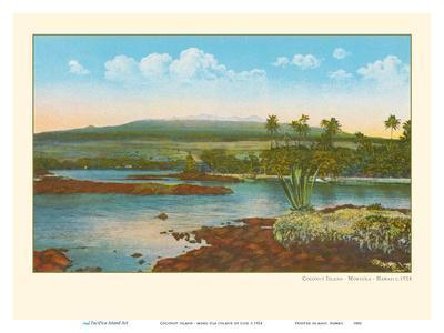 Coconut Island - Moku Ola (Island of Life) - Hilo Bay, Big Island, Hawaii