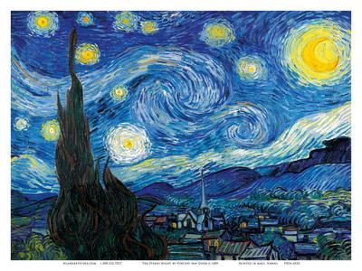 The Starry Night - Saint-Rémy-de-Provence, France