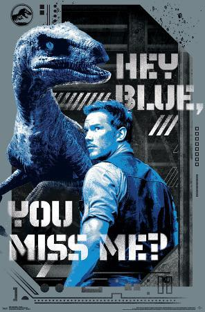 Jurassic World 2 - Hey Blue