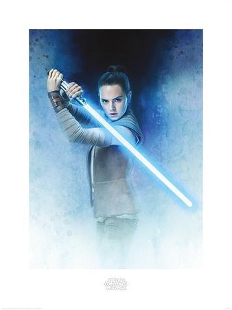 Star Wars: The Last Jedi - Rey Lightsaber Guard