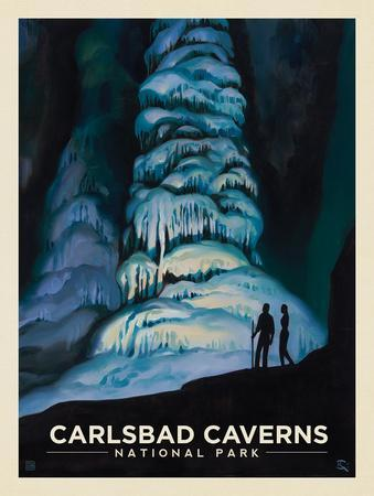 Carlsbad Caverns National Park: Hall of Giants