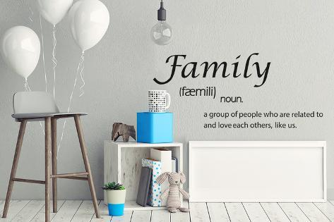 house quote definition of family wall home decoration diy