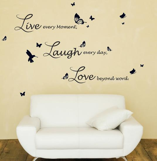 Live Laugh Love Quote Family