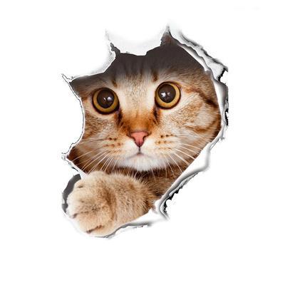 Light Switch Cat Cute Pet Wall, DIY, Home Decoration