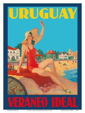 Uruguay - Ideal Summer (Veraneo Idéal) - Montevideo Beach Bathing Beauty