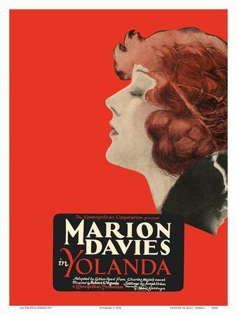 Yolanda - Starring Marion Davies, Lyn Harding and Holbrook Blinn