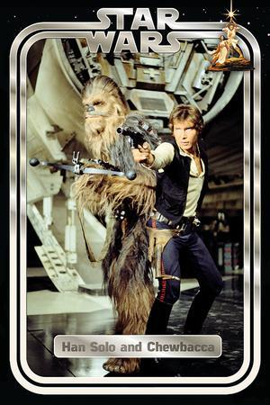Star Wars Classic - Han and Chewie Retro