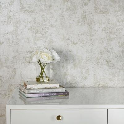 Distressed Gold Leaf Pearl Self-Adhesive Wallpaper