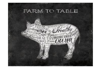 Farm To Table Pig
