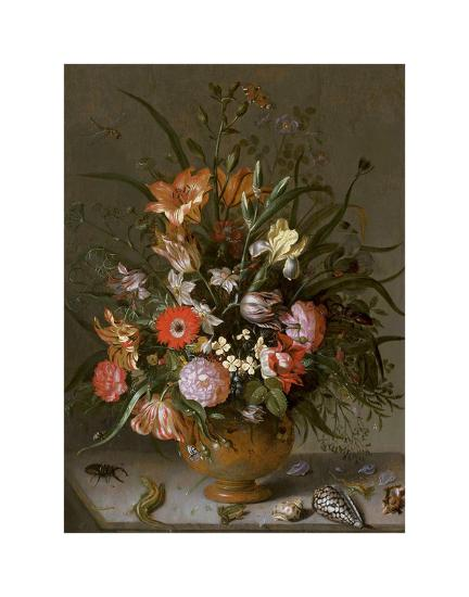 Jacob Marrel Flowers In A Vase Prints By Dutch Florals At