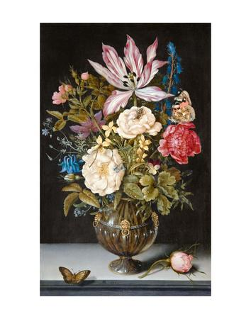 Ambrosius Bosschaert, Still-Life with Flowers