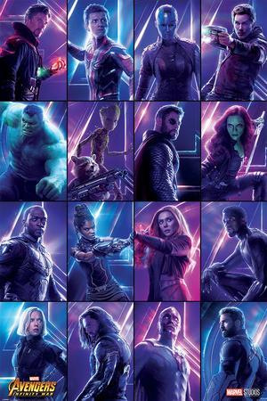 Avengers: Infinity War - Heroes