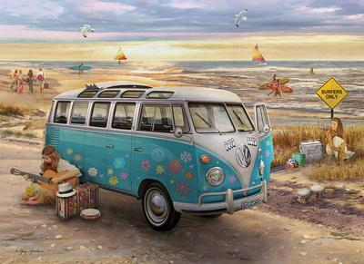 Love and Hope Vw Bus