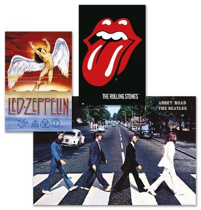 Rock and Roll Poster Set