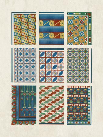 Egyptian Treasures - Mosaic