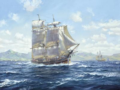 """R.N. Survey Brig """"Lady Nelson"""""""