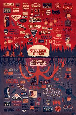 STRANGER THINGS (THE UPSIDE DOWN)