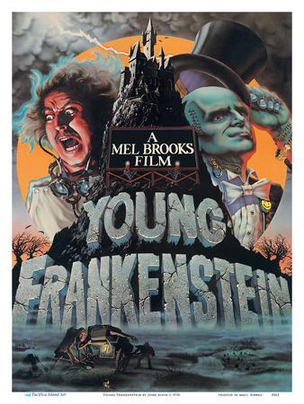 Young Frankenstein - Starring Gene Wilder - Directed by Mel Brooks