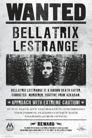 HARRY POTTER - WANTED BELLATRIX