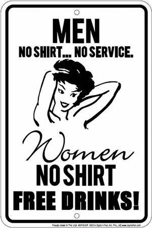 No Shirt/No Service