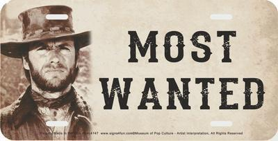 Most Wanted Clint Eastwood
