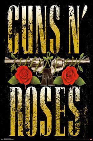GUNS N' ROSES - STACKED LOGO