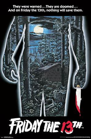 FRIDAY THE 13TH - ONE SHEET