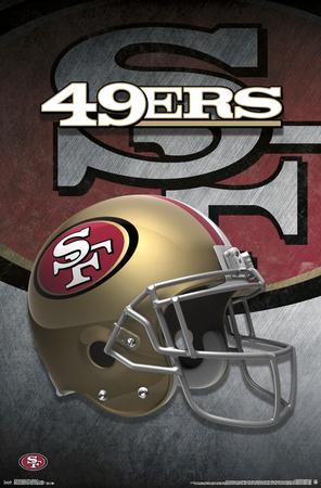 SAN FRANCISCO 49ERS - HELMET 15